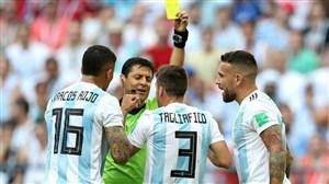 عملکرد درخشان فغانی و تیمشدر بازیفرانسه-آرژانتین