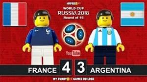 شبیه سازی لگو بازی فرانسه - آرژانتین (جام جهانی)