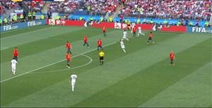 خلاصه 90 دقیقه دیدار اسپانیا 1 - روسیه 1 (جام جهانی روسیه)