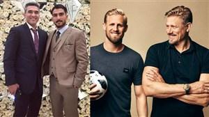 داستان پدر و پسرهای فوتبالی دنیا