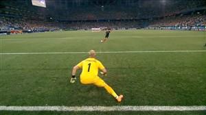 پنالتیهای بازی کرواسی 3 - دانمارک 2