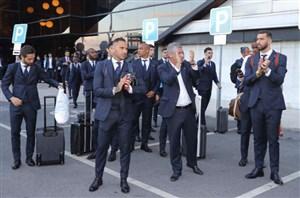 استقبال کم مردم پرتغال از بازگشت تیم ملی به کشور