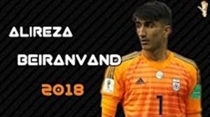 عملکرد علیرضا بیرانوند در جام جهانی 2018 روسیه