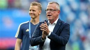 سرمربی سوئد: هنوز از عملکرد تیم ملی راضی نیستم