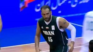 خلاصه بسکتبال ایران 88 - قزاقستان 56