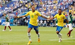 ستاره برزیل به مسی رسید