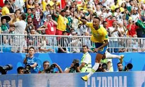 گفتگو با بهترین بازیکن دیدار مکزیک و برزیل