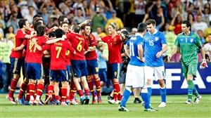 6 سال پیش در چنین روزی، اسپانیا 4 - ایتالیا 0 (فینال یورو 2012)