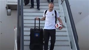 یادگاری اینیستا از آخرین بازی جام جهانی
