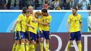سوئد 1- سوئیس 0؛ این تیم مهار نشدنی است!