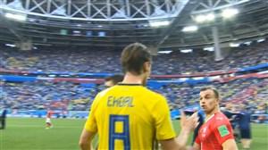 واکنشهای بازیکنان و هواداران پس از بازی سوئد-سوئیس