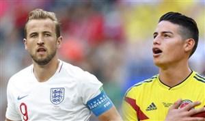 راه صعود انگلیس و کلمبیا به مرحله یک هشتم