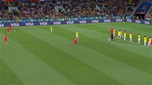 خلاصه 90 دقیقه بازی کلمبیا 1 - انگلیس 1 (جام جهانی روسیه)