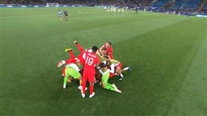 واکنشهای بازیکنان و هواداران پس از بازی کلمبیا-انگلیس
