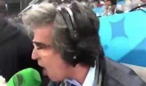 واکنش جالب گزارشگر  روی گل یریمینا به انگلیس