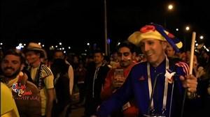 نظر هواداران کلمبیا و انگلیس پس از بازی