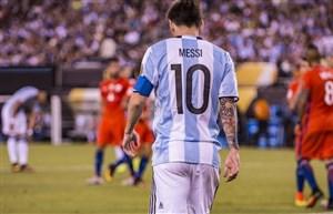 مسی و تلاش های بی ثمر برای تیم ملی آرژانتین