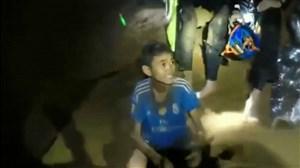 نجات بازیکنان تیم فوتبال تایلند در یک غار