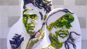 طراحی زیبای باغ گل برای مسابقات تنیس ویمبلدون 2018