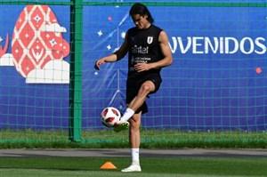 گزارش تمرین اروگوئه: کاوانی بازی خواهد کرد؟