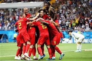برزیل 1- بلژیک 2؛ آواز قو در کازان