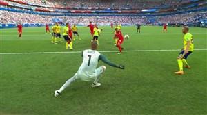 گل اول انگلیس به سوئد (مگوایر)