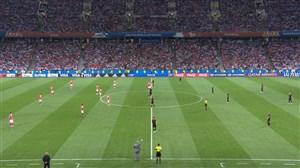 خلاصه 90 دقیقه روسیه 1 - کرواسی 1 (جام جهانی روسیه)