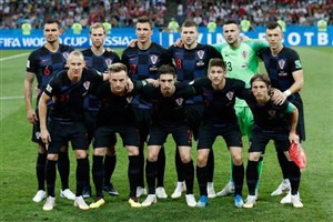 رونمایی از 11 بازیکن کرواسی و انگلیس