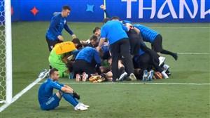پنالتیهای بازی روسیه 3 - کرواسی 4