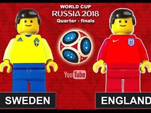 شبیه سازی بازیهای روز 21 جام جهانی با لگو (روسیه2018)