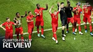 بهترین های نیمه نهایی جام جهانی 2018
