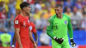 گفتگو با بهترین بازیکن دیدار انگلیس و سوئد