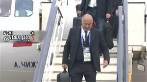 بازگشت تیم ملی روسیه به مسکو پس از حذف