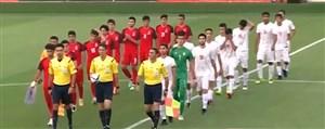 اولینبازیتدارکاتی تیم ملی نوجوانان برایقهرمانی آسیا