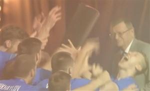 بالابردن جام لیگ ملتهای والیبال توسط تیم روسیه