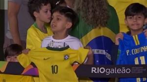 بازگشت تیم ملی برزیل به خانه پس از حذف از جامجهانی