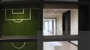 نمایی از کمپ جدید فوق العاده باشگاه یوونتوس