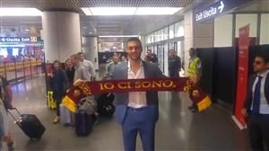 ورود دنیل فوزاتو به شهر میلان و کلینیک باشگاه آ.اس.رم