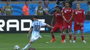 تقابل ستاره ها با تیم ملی ایران