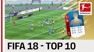 10 گل برتر ستارگان بوندسلیگا در FIFA18