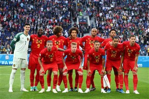 مرور نود ثانیه ای بر بازیهای تیم ملی بلژیک در جام جهانی