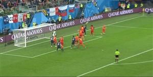 گل اول فرانسه به بلژیک (اومتیتی)