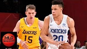 خلاصه بسکتبال لس آنجلس لیکرز - نیویوک نیکس