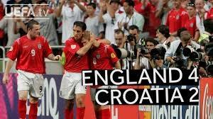 بازی خاطره انگیز انگلیس 4 - کرواسی 2 در یورو 2004