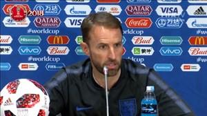 کنفرانس خبری دوتیم کرواسی - انگلیس قبل از بازی