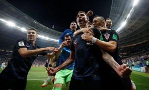کرواسی 2- انگلیس 1؛ شب تاریخی کرواتها در مسکو