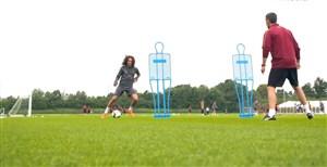 اولین تمرین متئو گوندوزی همراه بازیکنان آرسنال