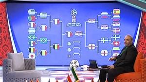 مروری بر بازیهای حذفی جام جهانی 2018 از زبان خیابانی