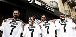 رونالدو- یوونتوس؛ حمله برای تصاحب شماره 7