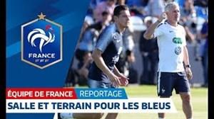 ریکاوری و تمرین تیم ملی فرانسه (22-04-97)